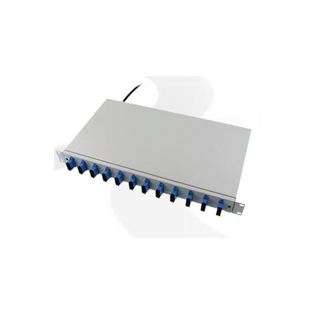 Kompletna przełącznica CBF 1U 12xSC/PC duplex (24J)