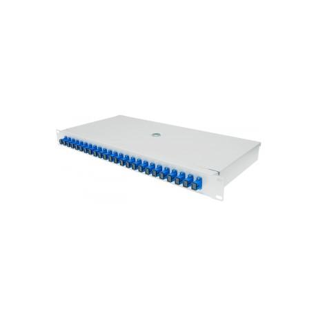 Kompletna przełącznica CBF 1U 24xSC/PC simplex (24J)